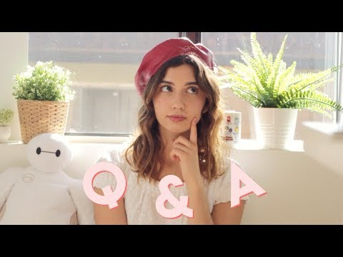 Q & A 🌸 Film School, Creativity, Studying Abroad