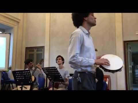Catullus sung in the Europa room at Accademia Vivarium Novum 2018