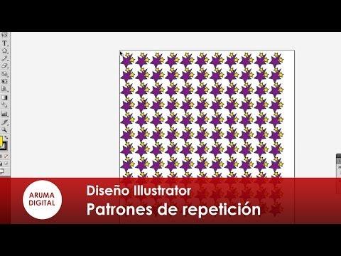 Illustrator 025 Patrones de repeticion