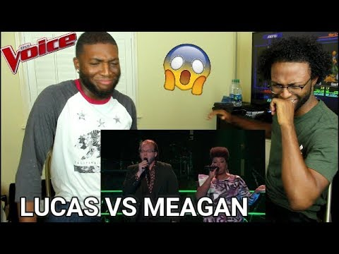 "The Voice 2017 Battle - Lucas Holliday vs. Meagan McNeal: ""My Prerogative"" (REACTION)"