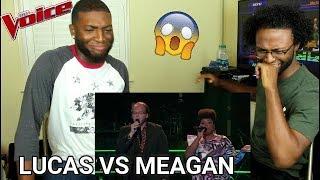 "The Voice 2017 Battle - Lucas Holliday vs. Meagan McNeal: ""My Prerogative"" (REACTION)"