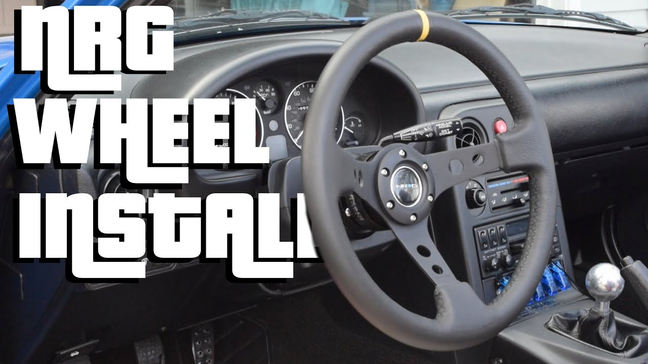 Project Brap Nrg Wheel Install Youtube