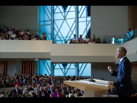 The President Speaks on National Jewish American Heritage Month