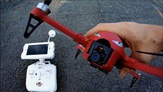 MJX BUGS 3 MOD 5.8 GHZ Camera FPV -- Test Flight