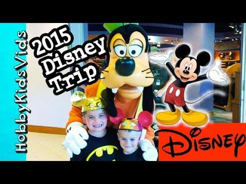 2015 Disneyland Trip! Downtown Disney, Hotel+California Adventure HobbyKidsVids