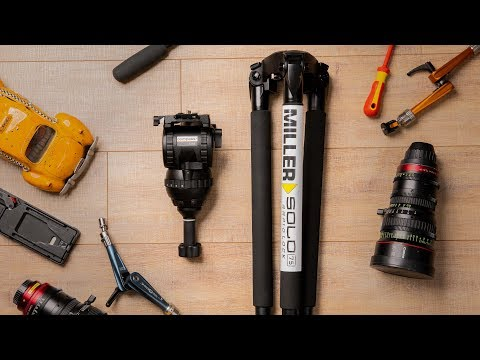 Miller CX8 - A tripod for any camera?