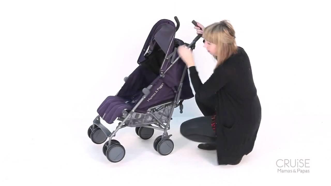 Mamas Amp Papas Cruise Stroller Training Youtube