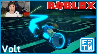 Roblox Volt - A game based on Disney's Tron with awesome Light Cycle's!!!