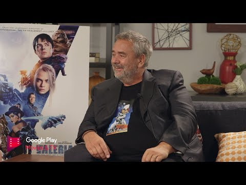 Google Play Exclusive: Valerian Interview with Director Luc