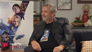 Google Play Exclusive: Valerian Interview With Director Luc Besson