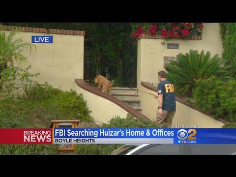FBI Raids Home, Offices Of LA City Councilman Jose Huizar