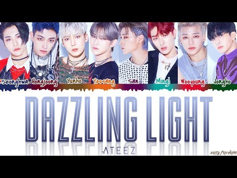 ATEEZ (에이티즈) - 'DAZZLING LIGHT' Lyrics [Color Coded_Han_Rom_Eng]