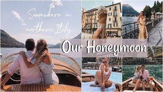 HONEYMOON IN ITALY // Our Time in Lake Como!