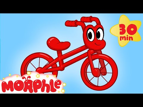 Thumbnail: My Red Bicycle - My Magic Pet Morphle Videos For Kids