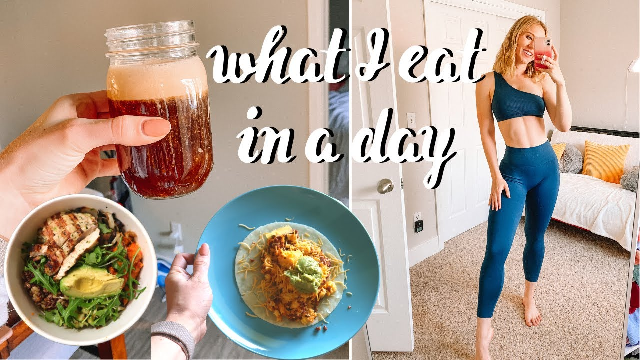 What I Eat in a Day Quarantine Edition | ft. protein coffee!