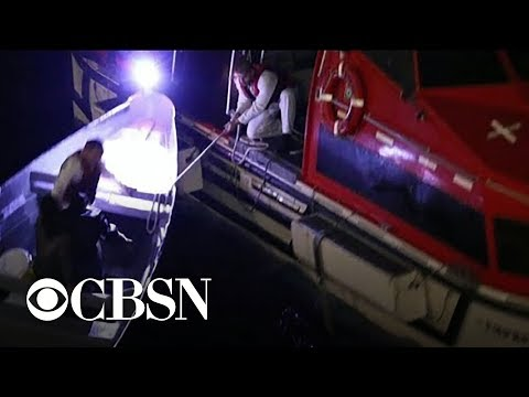 Cruise ship rescues fishermen stranded at sea for 20 days