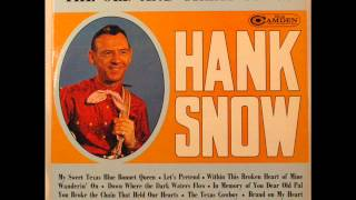 Hank Snow - Brand On My Heart 1964 Version (Rare Country Songs) YouTube Videos