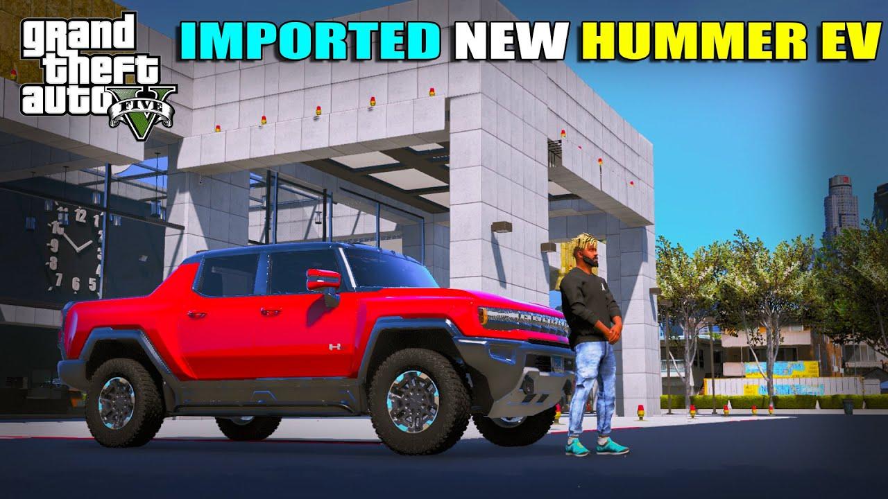 FIRST HUMMER EV EDITION IN LOS SANTOS   GTA 5   AR7 YT