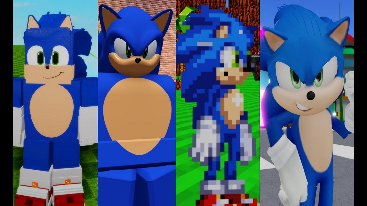 Movie Sonic In Sonic Roblox Fangames Youtube
