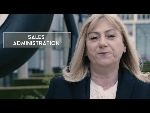 Marianne, sales administration manager