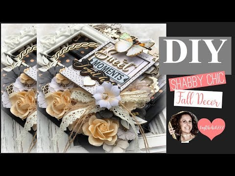 diy Paper Craft Tutorial  Shabby Chic   DT for Reneabouquets   faythchik777's DIY by Design