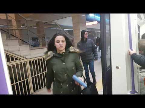Метро София Дружба- Сердика с Русич 81-740 | Sofia Metro Drujba- Serdika Part 1