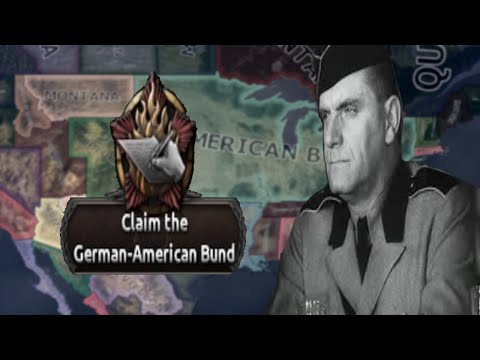 Hearts Of Iron 4: North America Divided - American Bund - German Empire From Pennsylvania