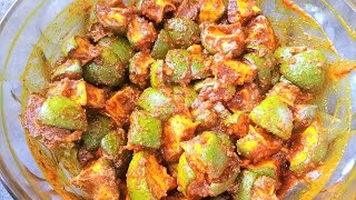 Andhra Mango Pickle Recipe in Hindi | Avakaya Pachadi | Mango Pickle Recipe South Indian Style