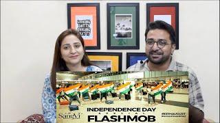 Pakistani Reacts to Flashmob at Kolkata Airport | India Independence Day | SangVi | Dance