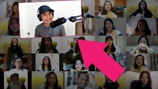 Bapak-Bapak Video Call Dengan 25 Anak SMA