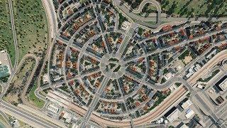 Dzielnica na planie koła - Cities: Skylines S08E30