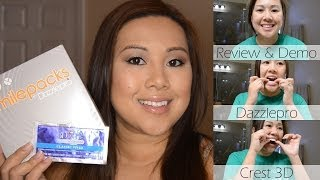 Review & Demo: Dazzlepro 7-day Smilepacks Are Not Crest Strips! | Frombrainstobeauty