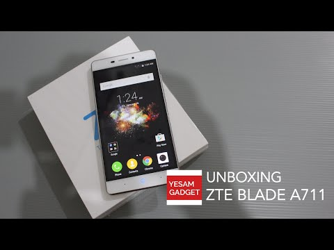 Unboxing & First Impression ZTE Blade A711/Blade X9 Indonesia
