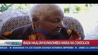 Bibi wa Maria na Consolata aungana na wanabukoba kuwaaga Maria na Consolata