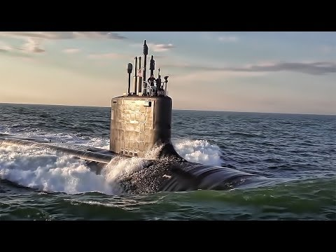 Onboard A Brand New U.S. Nuclear Sub