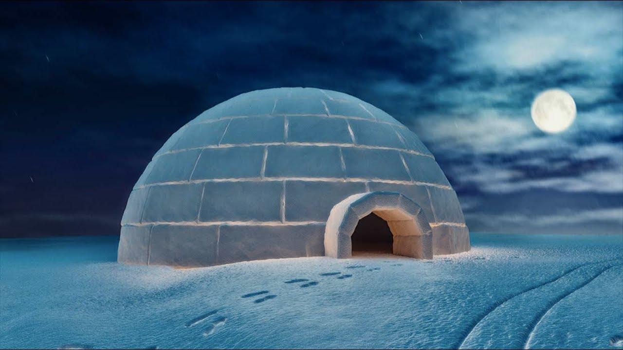 женщины картинки северного полюса с домами покрыты