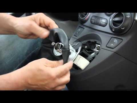 Montaggio Cuffia Del Cambio Su Fiat 500 Youtube