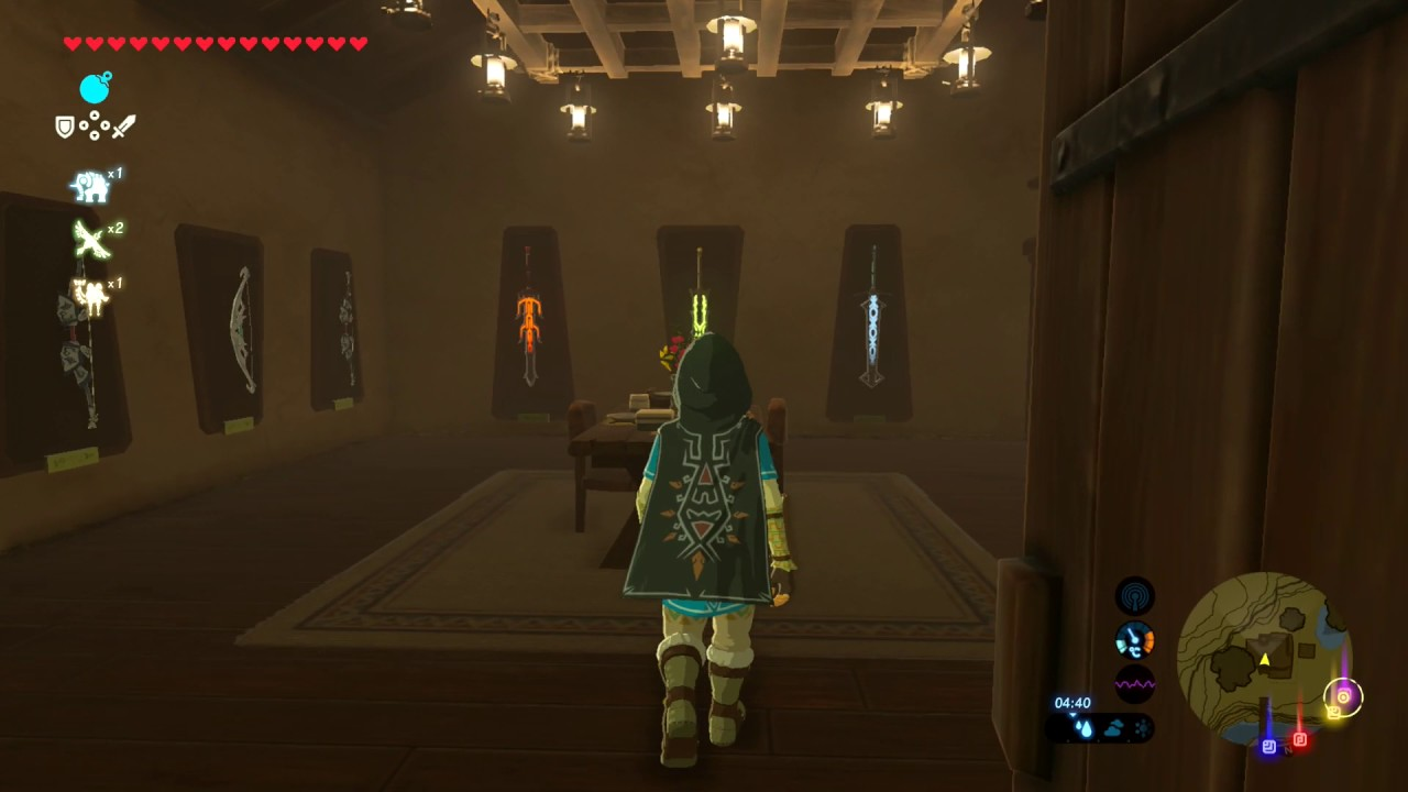 Zelda Breath Of The Wild Link S House 100 Complete Youtube