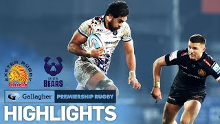 Exeter Chiefs v Bristol Bears -HIGHLIGHTS| Top 2 Clash at Sandy Park!| Gallagher Premiership 2020/21