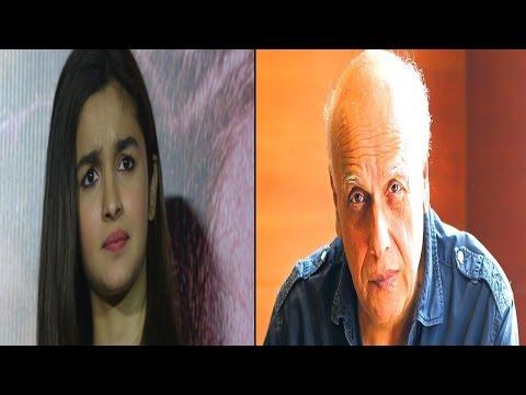पिता महेश भट्ट के इस खुलासे से चौंक गई आलिया..!! Mahesh Bhatt shocks Alia, know why