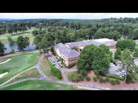 Green Island Country Club - Columbus, Georgia - An Aerial View