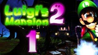Let's Play Luigis Mansion 2 Part 1: Der neue Schreckweg 09/15