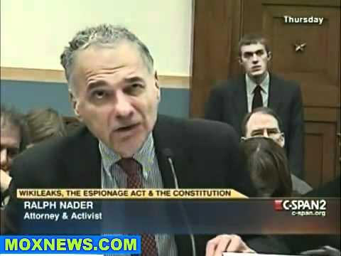 Congressional Hearing  WikiLeaks, The Espionage Act   The Constitution pt.8.flv