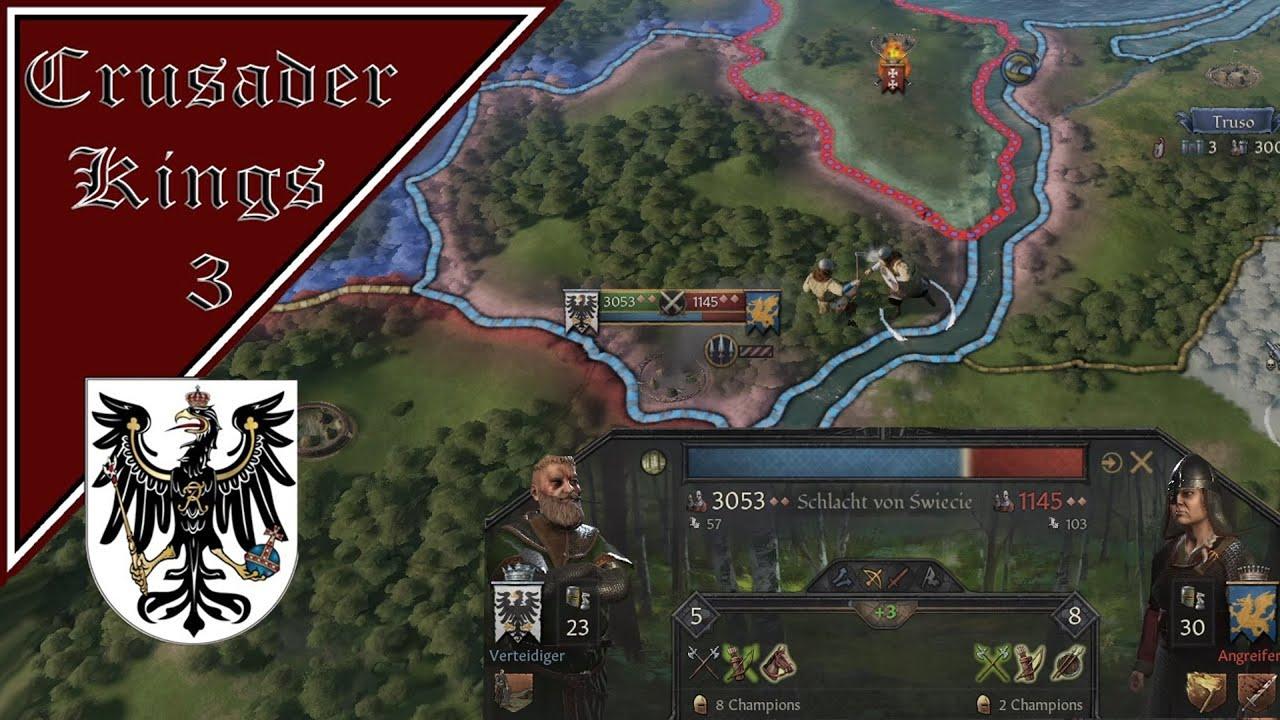 Crusader Kings 3 #15 Die Schlacht von Swiecie (Preußen / Geschichte / Rollenspiel / Deutsch)