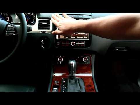 Volkswagen Touareg Видеорегистратор, громкая связь