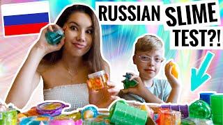 WIR testen RUSSISCHE SLIMES! - Mit Cousin | Valeria Greb