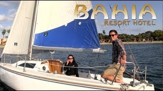 San Diego Activities - Sailing on Mission Bay - Bahia Resort Hotel