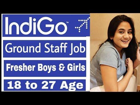 IndiGo Airlines Jan 2020 Job Vacancies For Fresher Boys & Girls | Indian Airport Ground Staff Job