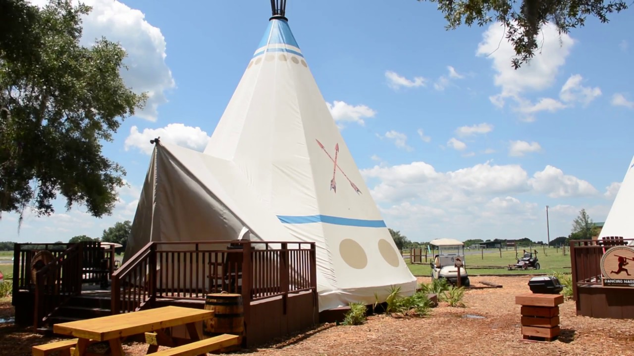 River Ranch Florida >> 'Luxury teepees' a new lodging option at Westgate River ...