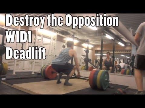 Destroy The Opposition W1D1 Deadlift